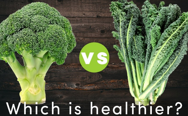 Which is healthier: Brocolli or Kale?