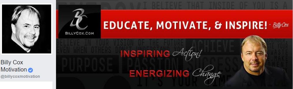 Billy Cox Motivation Personal Development, personal growth, self improvement, life, motivation
