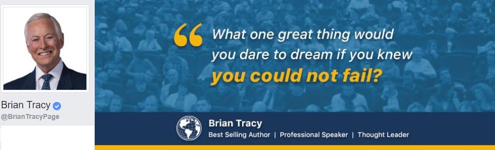 Brian Tracy Personal Development, Professional Speaker