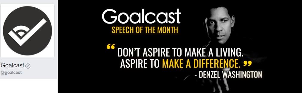 Goalcast Personal Development, personal growth, self improvement