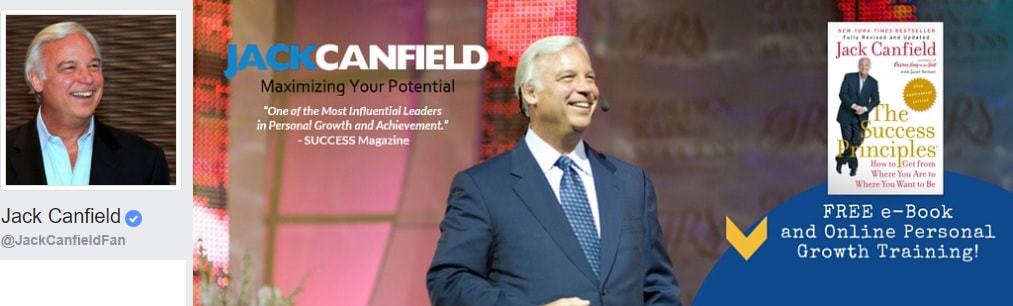 Jack Canfield personal development Facebook pages, personal growth, self improvement, life, motivation