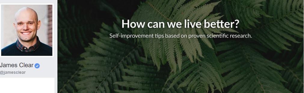 James Clear Personal Development, personal growth, self improvement, life, motivation