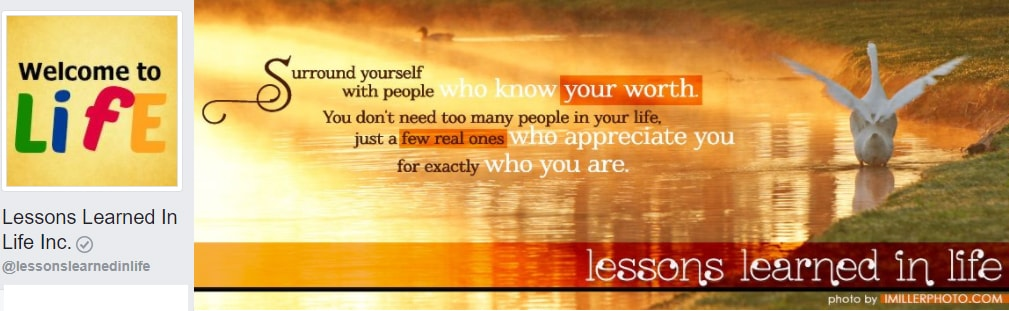 Lessons Learned In Life Inc. Personal Development, personal growth, self improvement, Morals
