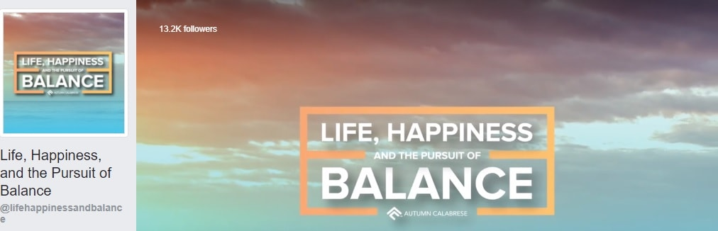 Life, Happiness, and the Pursuit of Balance, personal development
