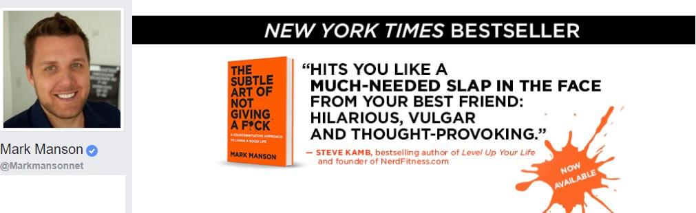 Mark Manson Personal Development, personal growth, self improvement, life, motivation