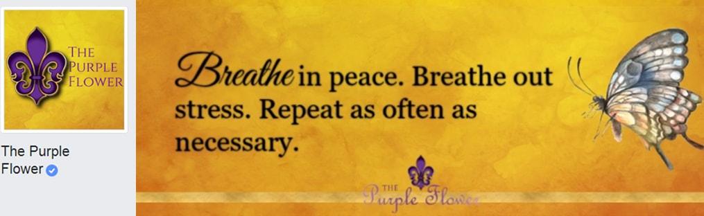 The Purple Flower Personal Development, personal growth, self improvement, motivation