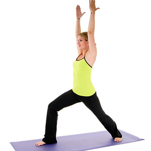 warrior poses yoga
