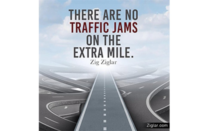 extra mile quotes