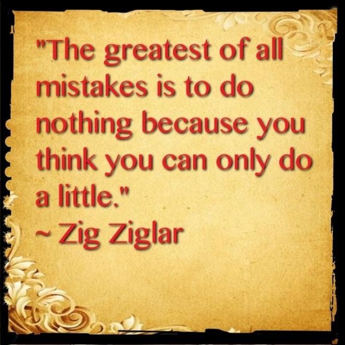 mistake quotes zig ziglar