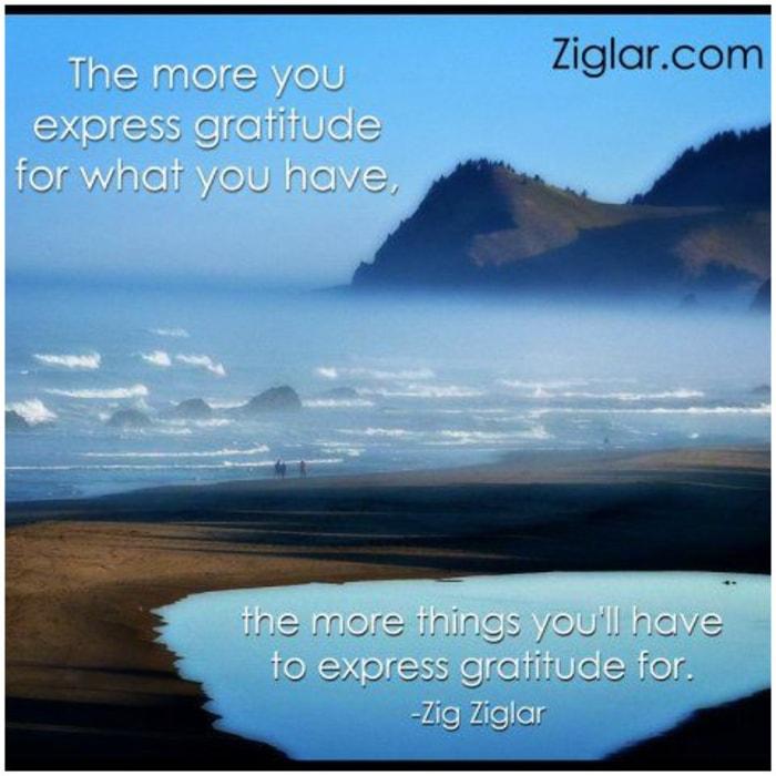 gratitude quotes zig ziglar