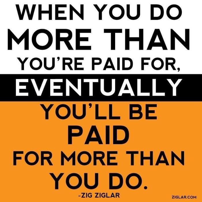 paid more zig ziglar quotes