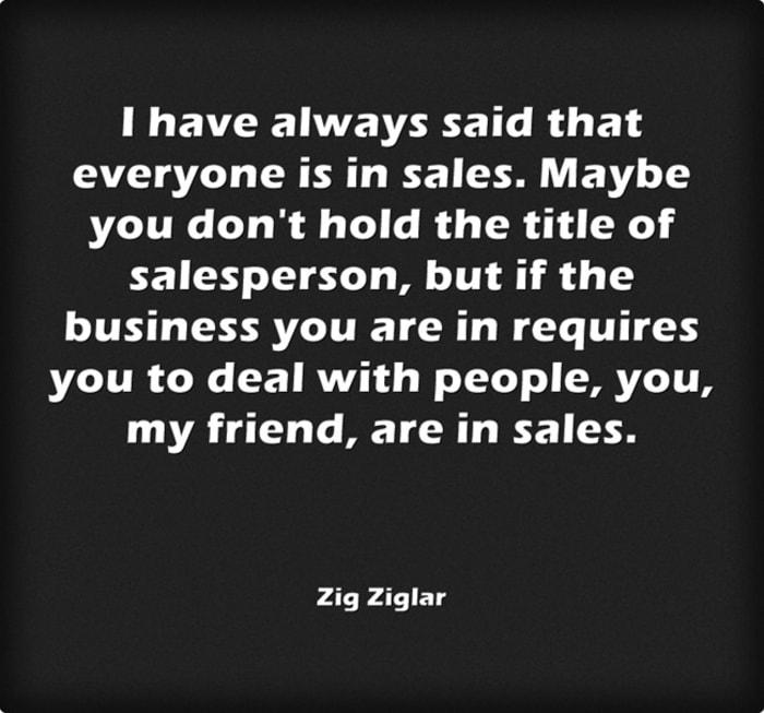 Sales quotes zig ziglar