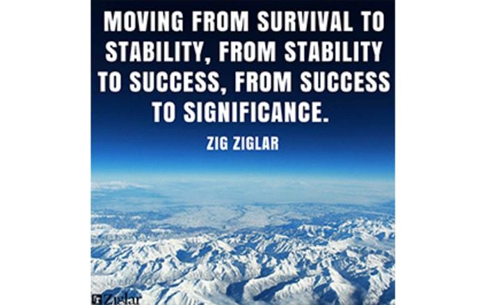 zig ziglar stability quotes